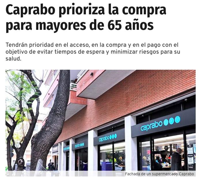 Caprabo aplica #EllosPrimero