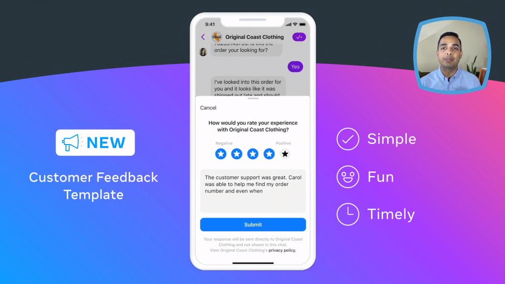 customer experience feedback